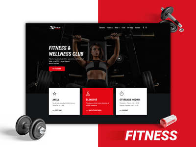 Web - xfit.sk ux ui creative website design webdesign web design website web