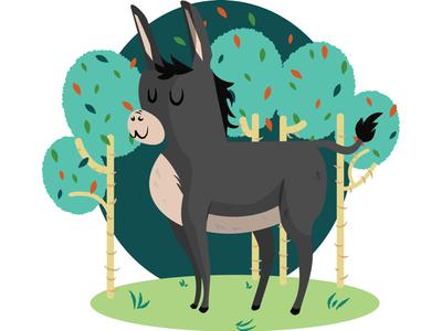 Proudest donkey