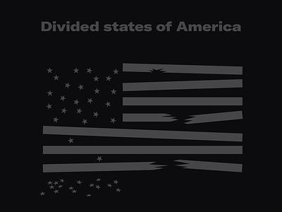 Divided states of America blm blacklivesmatter