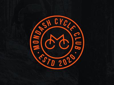 Mondash Cycle Club mtb bike logo bike cycles cycling logo