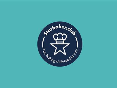 Starbaker.club logo design vector design logo designer brand identity baking bake logotype logos logo design logo star logo bakery logo baking logo