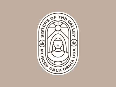 Sisters of the Valley Logo Branding