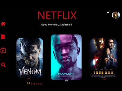 Netflix Home Screen