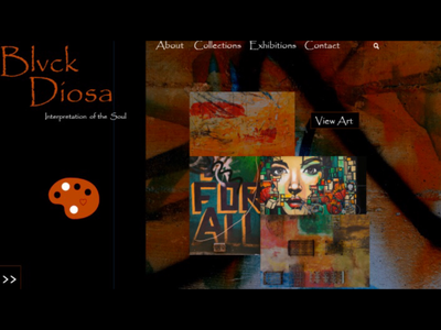 Blvck Diosa Art Home Page