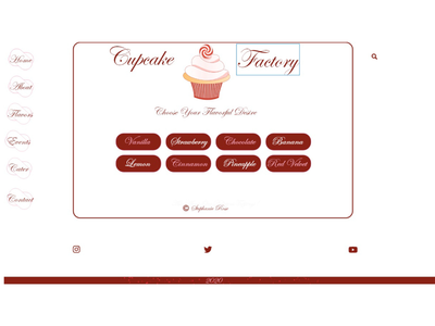Cupcake Factory Home Page