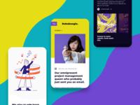 Roboboogie Site Mobile UI