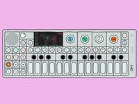 Digital Illustration - Teenage Engineering OP-1