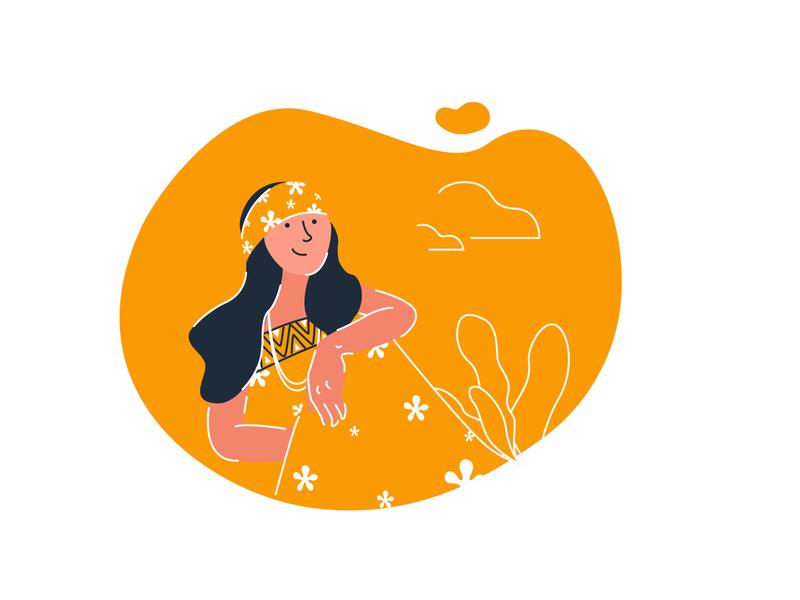 happpiness ai illustrations minimal illustrator flat design web illustration easy ilustrations vector digital illustration