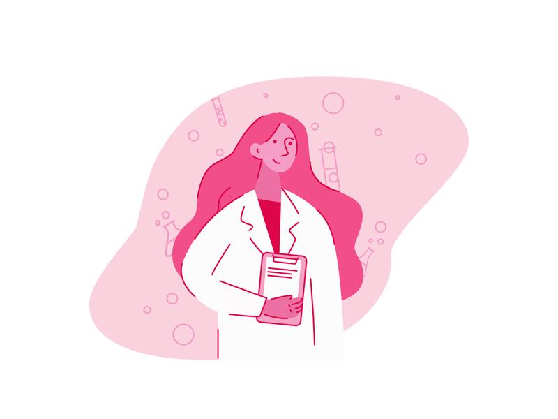 DOCTOR ai illustrations minimal illustrator flat design web illustration easy ilustrations vector digital illustration
