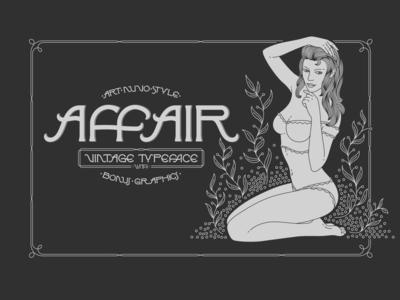 Affair Typeface