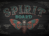 Spirit Board font set