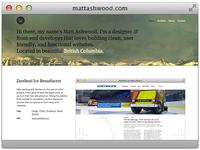 mattashwood.com Redesign