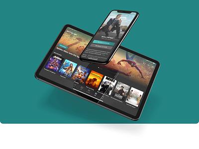 Streaming Service App app design uidesign uxdesign