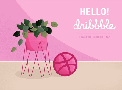 Hello Dribbble! My First Shot