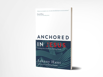 Book Cover Design: Anchored In Jesus