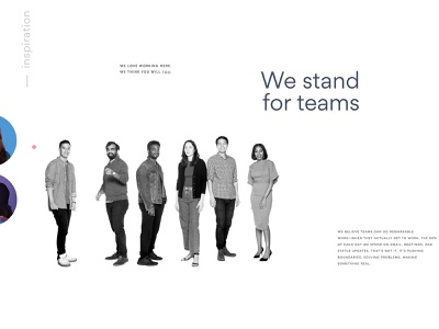 Join our team after effects black and white motion design typography asana