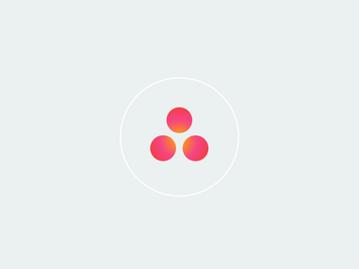 Asana Widget for iOS vector animation typography final cut pro motion graphics motion design asana