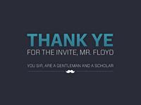 Thank Ye