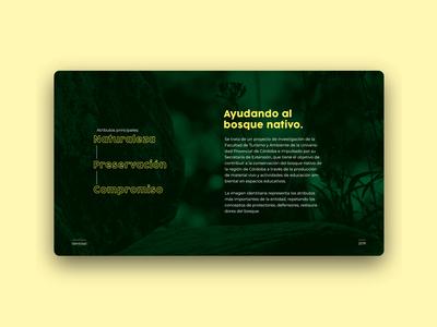 Ayudando al Bosque Nativo UI