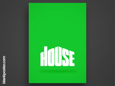 Poster - House