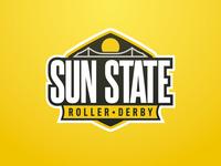 Logo - Sun State Roller Derby