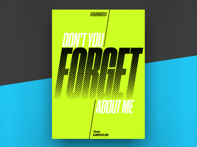 Poster - Forget