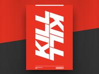Poster - Kill