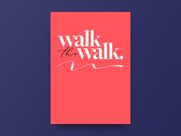 Poster - Walk