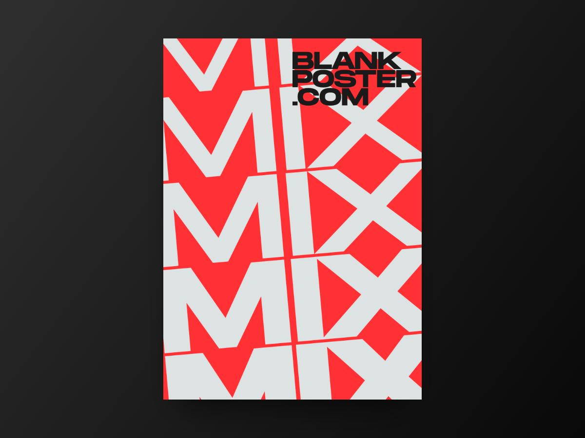 Poster - Mix type blankposter poster blankposter.com