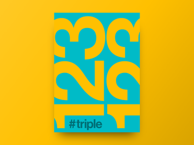 Poster - Triple