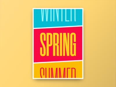 Poster - Spring
