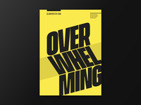 Poster - Overwhelming