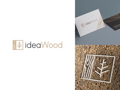 Idea wood - logo