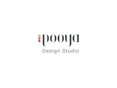 Pooya design studio logo creativity personal branding logo design design. studio pooya