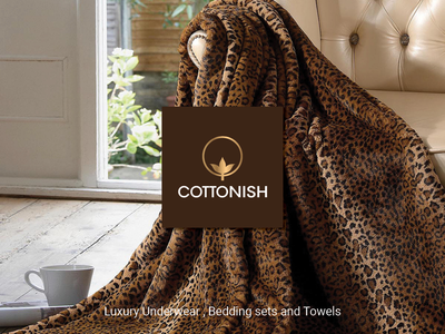 Cottonish magazine ads luxury minimal branding design magazine print