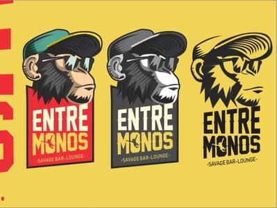 entre monos logo