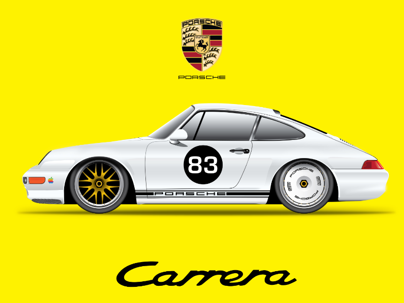 911 (993) graphicdesign illustration south africa vectorart