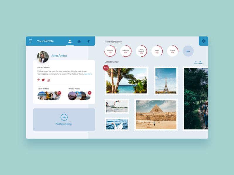 Strav - UI Concept 17 web interface web design travel app travel website traveling travel website app design app interface ui ux user interface interface designer design ui design interface design