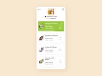 Hypefile - UI Concept 20 material design minimalism app design app interface ui ux user interface interface designer design ui design interface design