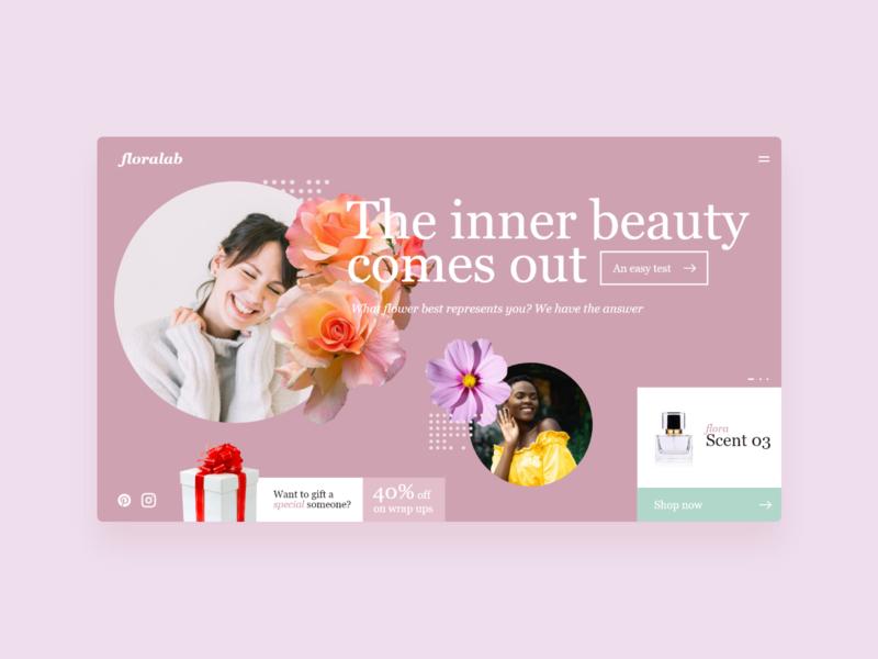 Floralab - UI Concept 04 ui designer web designer web design websites website concept website design website web interface user interface ux ui interface designer design ui design interface design