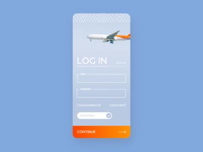 Fly Air - UI Concept 11