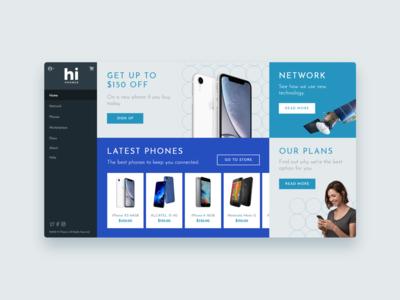 Hi Phones - UI Concept 13