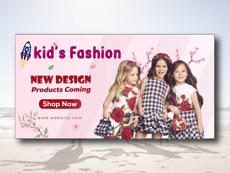 kids fashion fashion flyer branding vector design graphic design kid fashion kids illustration kid kids