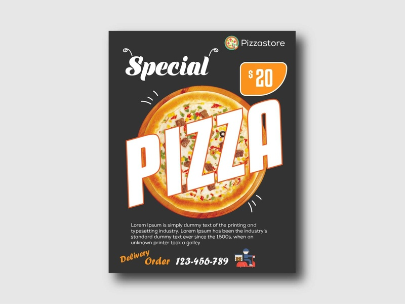 Pizza flyer flyers design flyers flyer design template flyer design ideas flyer designs flyer artwork flyer template flyer designer flyer design flyer pizza pizza flyer