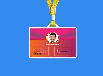 Company Employee ID Identity Card