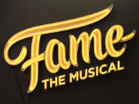 Fame Musical Logo & 3D