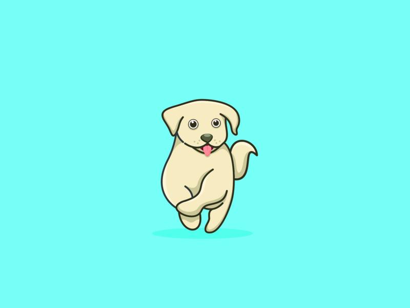 dogg cute dog ui vector logo typography illustration logotype design logo design branding dog icon