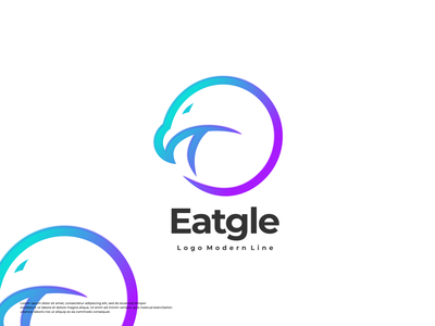 eagle logo app typography animation illustration logotype design logo logo design branding icon
