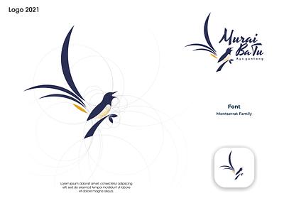 Murai Batu logo ux vector ui illustration logotype design logo logo design branding icon