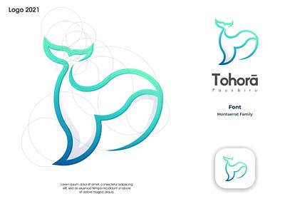 Tohora Logo ux vector ui illustration logotype design logo logo design branding icon